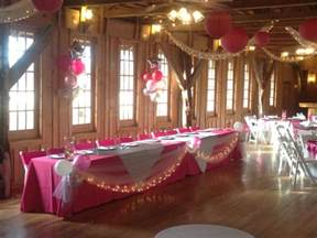 tracy dub town table decor quinceanera ideas