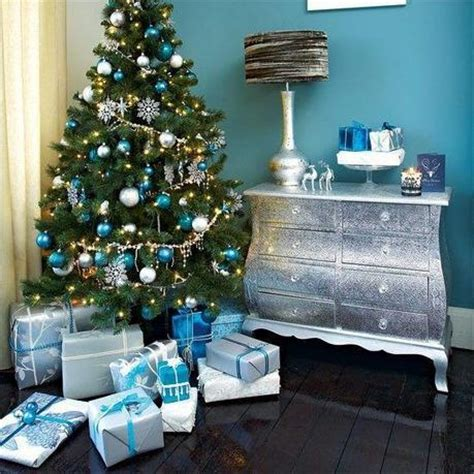 1996 blue room christmas tree d 233 co sapin de no 235 l bleu et blanc paperblog