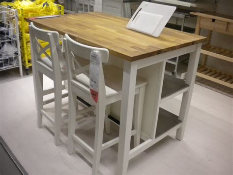 ikea island as craft table simplify organize