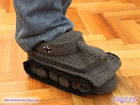 german house shoes i need those on my feet now panzer tank slippers geekologie