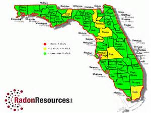 florida time zone map florida radon mitigation testing levels radonresources