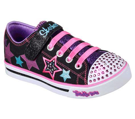Sepatu Skechers Twinkle Toes buy skechers twinkle toes sparkle glitz twinklerella s