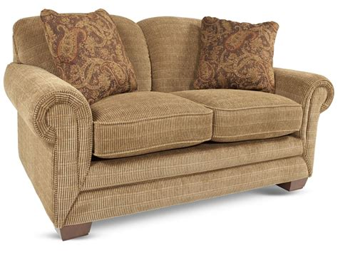 lazy boy mackenzie la z boy mackenzie burlap loveseat mathis brothers furniture