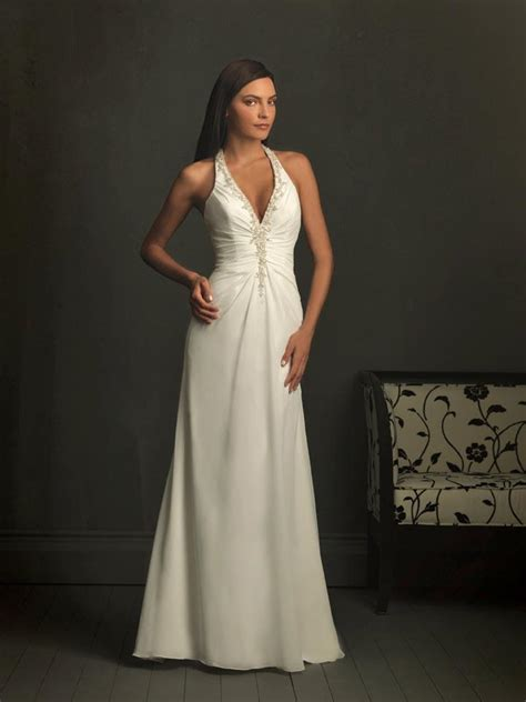 Wedding Dresses Halter Top by Ivory Wedding Dresses Halter Top Wedding Dress Chiffon