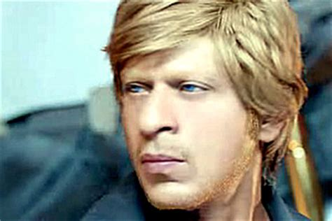 sharuk khan images blonde on black hair shahrukh khan s amazing looks in hny desiblitz