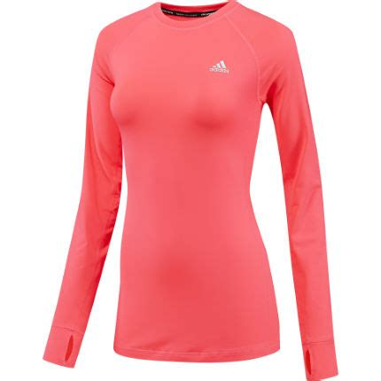 Promo G Ci G075 Pink maillots de running 224 manches longues adidas