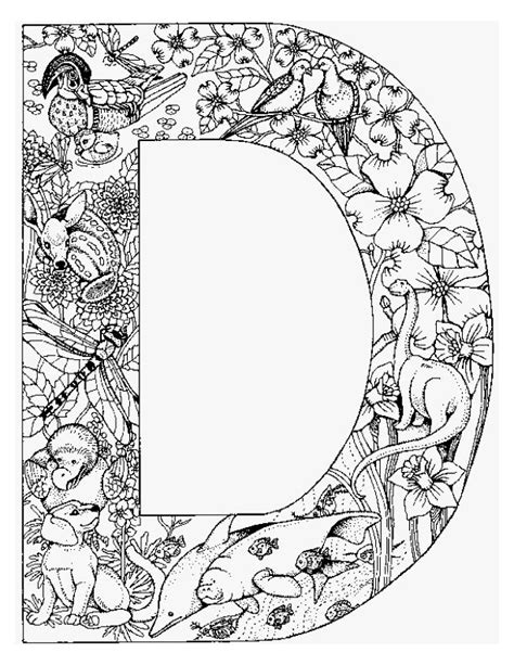 coloring pages of alphabet with animals coloring page alphabet animal d coloring me