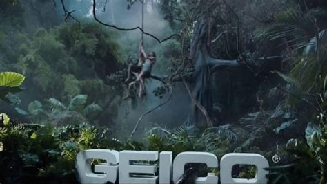 who is the new tarzan geico commercial geico tv spot tarzan fights over directions it s what
