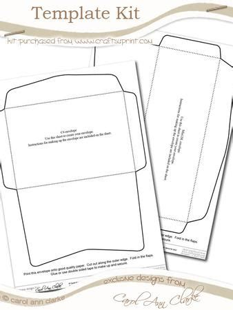 Walgreens Card Envelope Printer Template by Envelope Template Kit 2 Sheets In The Kit Cup58779 359