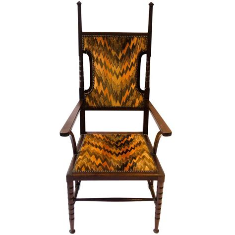 liberty armchair arts and crafts mahogany armchair attributed to liberty