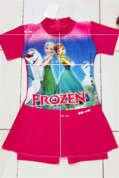 Kolam Anak Bulat Karakter Frozen 130cm baju renang anak karakter kartun tokoonline88