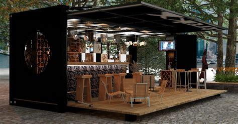 Furniture Interior Design by Transforming Event Spaces Container Bars And Pop Up Concepts