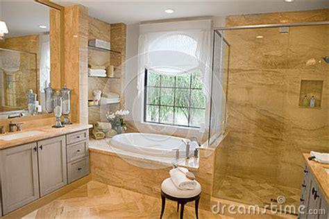 upmarket bathrooms large upscale master bathroom stock photo image 28129970