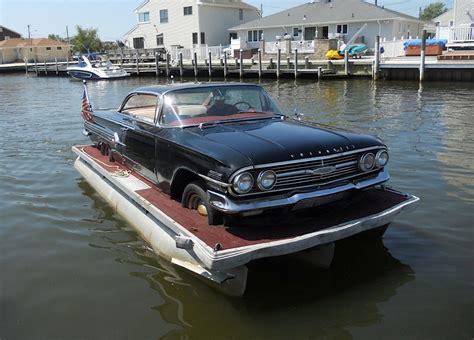 the boat on 1960 the 1960 impala boat chevy hardcore