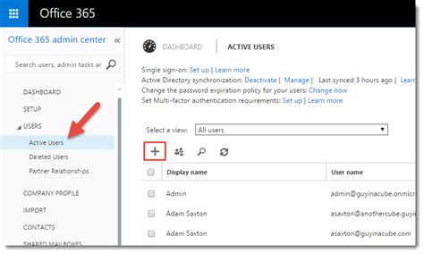Office 365 Portal Dirsync Azure Active Directory And Power Bi Microsoft Power Bi