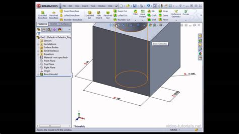 tutorial solidworks 2013 youtube solidworks 2013 video tutorials using equations in your