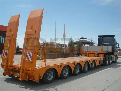 low bed trailer cement bulker silo trailer tanker trailers lowbed low