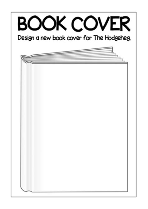 design a front cover ks2 the hodgeheg story teaching resources eyfs ks1 2 hedgehog