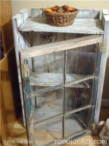 Curio Cabinet With Side Doors Diy Craft Projects Using Old Vintage Windows Doors Trash