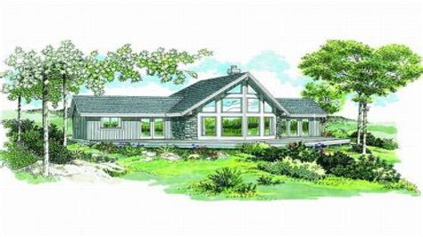 water view house plans lakefront house plans view plans lake house water front