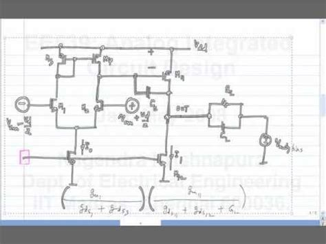 analog integrated circuit design by prof nagendra krishnapura sir lecture 48 two stage op frequency response noise