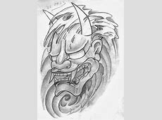 Tattoo Sketch A Day: Japanese Masks September 22nd - 30th Japanese Maple Leaf Drawing