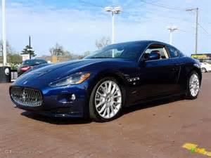 Blue Maserati Granturismo Oceano Blue Metallic 2012 Maserati Granturismo S