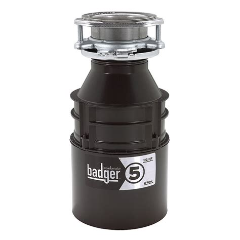 insinkerator badger 5xp food waste disposer the home