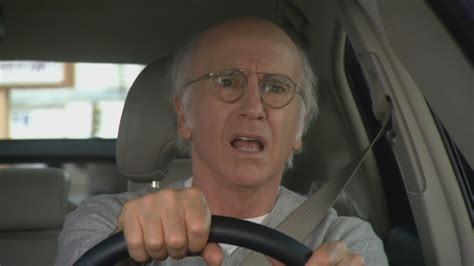 Curb Your Enthusiasm Meme - curb your enthusiasm meme shocked driving on bingememe