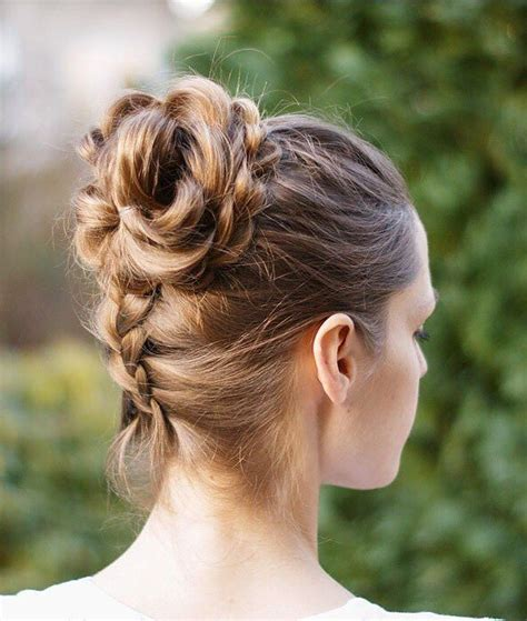 long braids put into a bun 50 elegant updos for long hair dream hairstyles