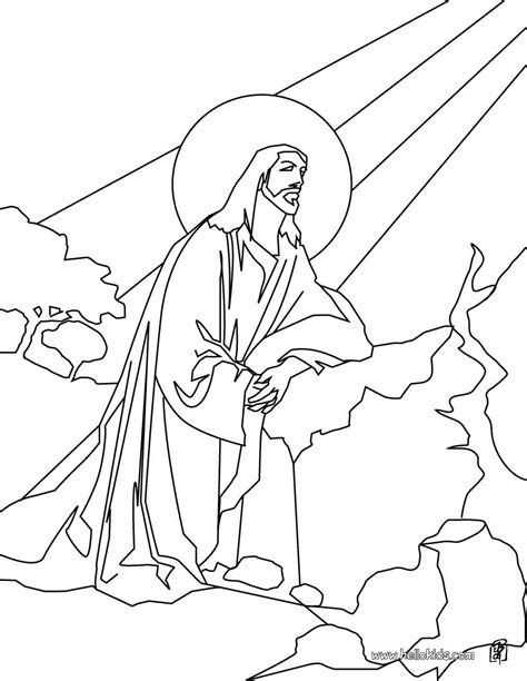 coloring pages ascension of jesus ascension of jesus coloring pages hellokids