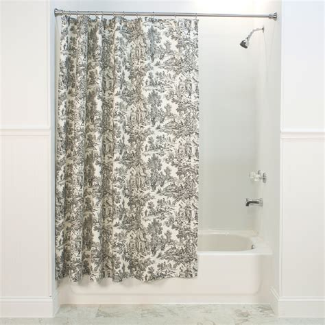 blue toile shower curtain victoria park toile shower curtain