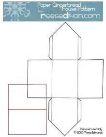 house pattern paper gingerbread house pattern explore reesedixon s