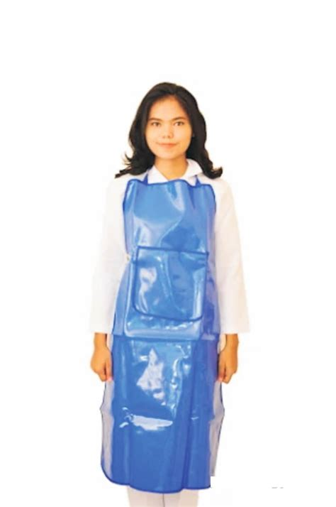 sell apron apron blue plastic thick standard hospital from indonesia by pt hildan