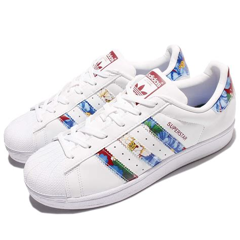 Adidas Superstar Classic W B adidas originals superstar w multi color white