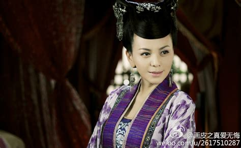 chinese veteran actress painted skin to love without regrets tv series official