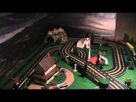 afx tyco aurora ideal auto world slot car track ho layout