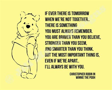 printable christopher robin quotes winnie the pooh quot if ever quot quote home or nursery decor