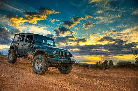 jeep wrangler beach sunset moab a jeep and a great sunset dav d photography