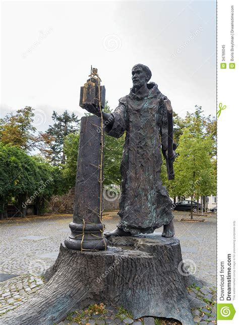 Statue L by Statue Of St Boniface Fritzlar Germany Royalty Free