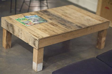 upcycling wood boards with pallet coffee table plans coffe table gallery