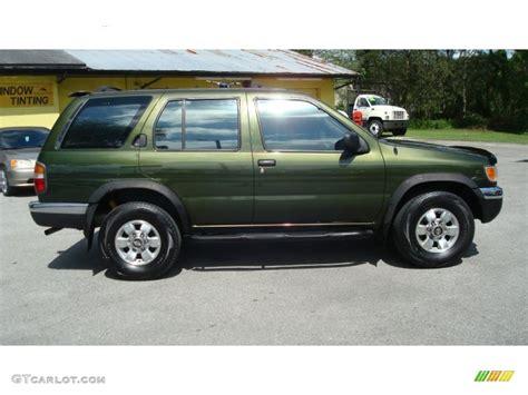 pathfinder nissan 1998 1998 dark green pearl metallic nissan pathfinder xe
