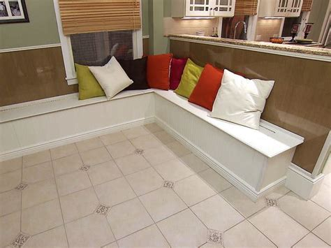 Ready Made Banquette Seating by Diy Nooks And Banquettes Decorating Your Small Space