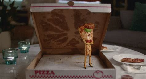 orbit commercial pizza actress pizza gif find share on giphy