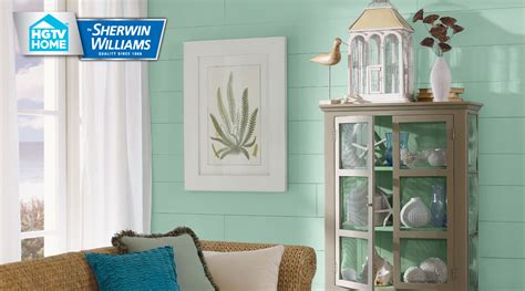 Platinum Gray Benjamin Moore coastal cool paint color collection hgtv home by