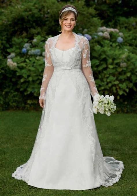 plus size wedding dresses with lace back 2016 2017   B2B Fashion