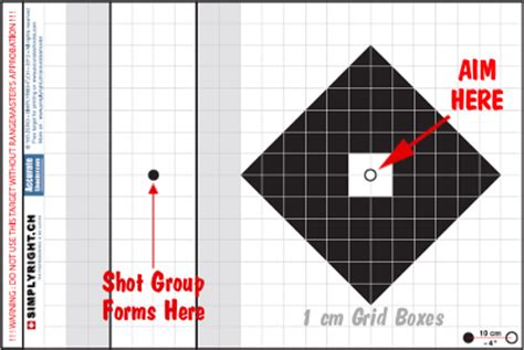 printable sniper zero targets new precision shooting grid target from switzerland