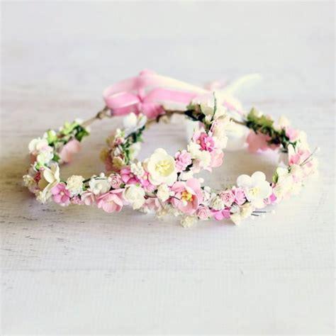diy tiara di fiori makeup flower crown wedding bridal engagement bridesmaid flower