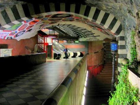 imagenes de subway subway art stockholm s underground museum downsize my space