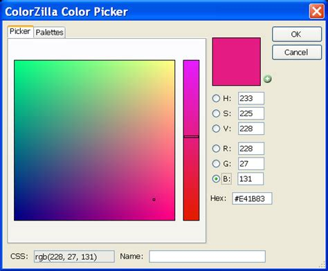 html color picker colorzilla for firefox screenshots